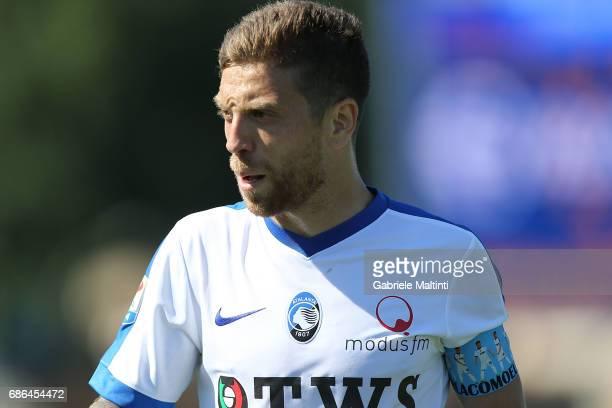 Alejandro Gomez of Atalana BC reacts during the Serie A match between Empoli FC and Atalanta BC at Stadio Carlo Castellani on May 21 2017 in Empoli...