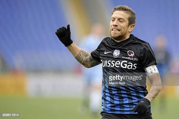 Alejandro Gomez of Atalanta BC during the Serie A match between SS Lazio and Atalanta BC at Stadio Olimpico on January 15 2017 in Rome Italy