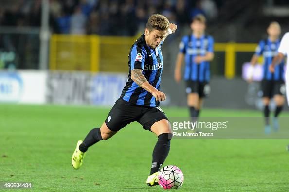 Alejandro Gomez of Atalanta BC in action during the Serie A match between Atalanta BC and UC Sampdoria at Stadio Atleti Azzurri d'Italia on September...