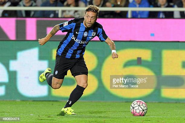 Alejandro Gomez of Atalanta BC in action during the Serie A match between Atalanta BC and UC Sampdoria at Stadio Atleti Azzurri d'Italia on September...