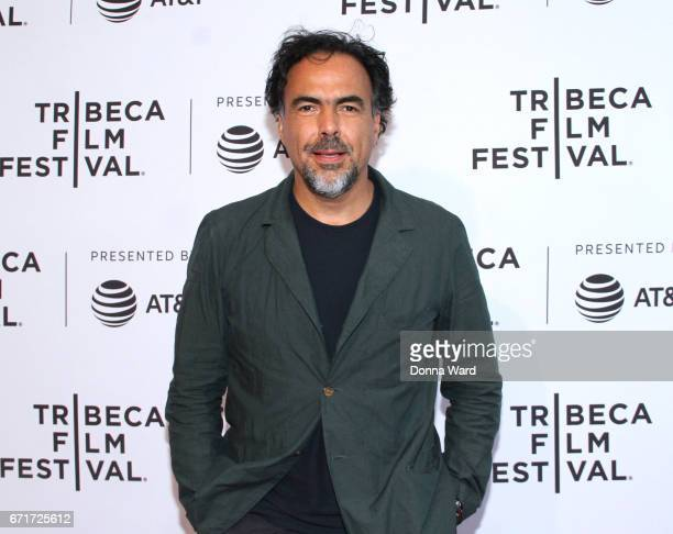 Alejandro Gonzalez Inarritu attends the Tribeca Talks Director Series Alejandro Gonzalez Inarritu With Marina Abramovic at SVA Theatre on April 22...