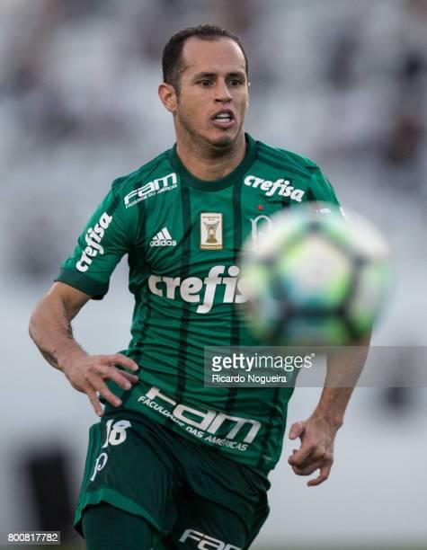 Alejandro Guerra of Palmeiras in action during the match between Ponte Preta and Palmeiras as a part of Campeonato Brasileiro 2017 at Moises...