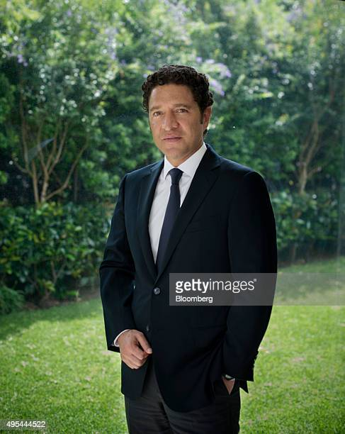 Alejandro Legorreta chief executive officer of Sabino Capital poses for a photograph at his office in Mexico City Mexico on Wednesday Oct 14 2015...