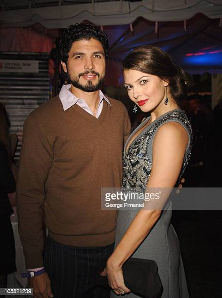 Alejandro Monteverde and Ali Landry during 31st Annual Toronto International Film Festival Closing Night After Party at Metro Square in Toronto...