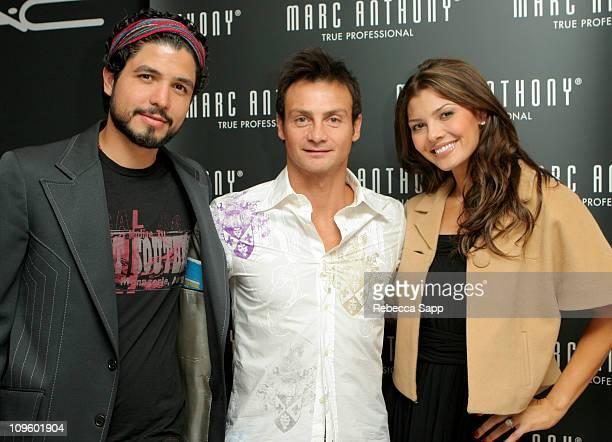Alejandro Monteverde Marc Anthony and Ali Landry during 31st Annual Toronto International Film Festival The Luxury Lounge Day 3 at Park Hyatt Hotel...