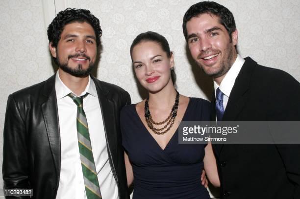 Alejandro Monteverde Tammy Blanchard and Eduardo Verastegui
