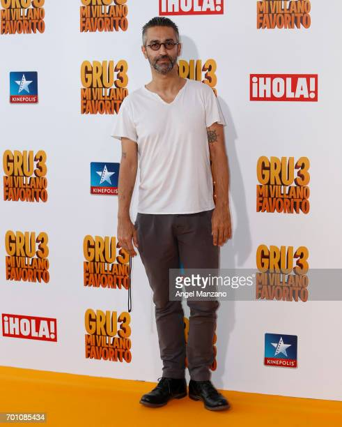 Alejandro Pelayo attends the 'Despicable Me 3' premiere at Kinepolis cinema on June 22 2017 in Madrid SPAIN