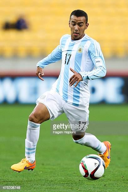Alejandro Romero of Argentina in action during the Group B FIFA U20 World Cup New Zealand 2015 match between Argentina and Panama at Wellington...