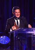 Alejandro Sanz attends Latin Songwriters Hall Of Fame La Musa Awards at Ritz Carlton South Beach on October 18 2014 in Miami Beach Florida