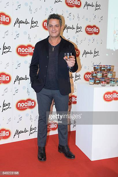 Alejandro Sanz attends Nocilla New Glasses Collection presentation at Casa de las Halajas on July 6 2016 in Madrid Spain