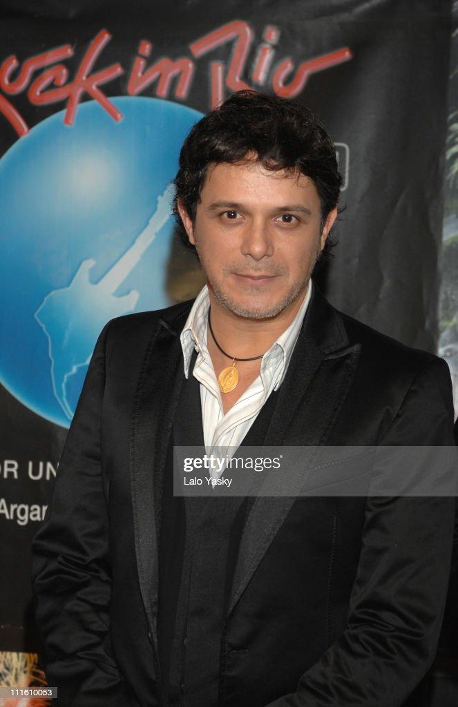 """Alejandro Sanz Presents """"Rock in Rio - Madrid 2008"""""""