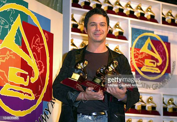 Alejandro Sanz winner of Record of the Year Album of the Year Song of the Year and Best Male Pop Vocal Album