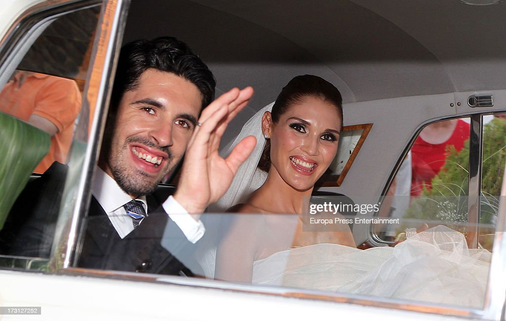 Alejandro Talavante and Jessica Ramirez Wedding In Olivenza - July 05, 2013