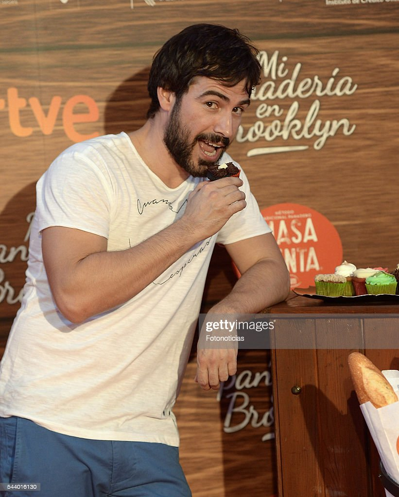 Alejandro Tous attends the 'Mi Panaderia de Brooklyn' premiere at Capitol cinema on June 30, 2016 in Madrid, Spain.