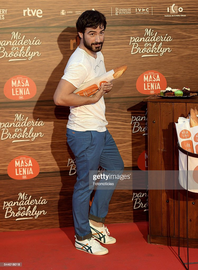 <a gi-track='captionPersonalityLinkClicked' href=/galleries/search?phrase=Alejandro+Tous&family=editorial&specificpeople=6713067 ng-click='$event.stopPropagation()'>Alejandro Tous</a> attends the 'Mi Panaderia de Brooklyn' premiere at Capitol cinema on June 30, 2016 in Madrid, Spain.