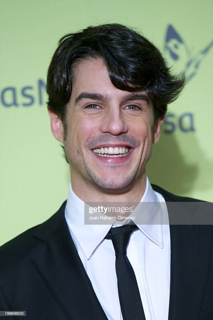 Alejo Sauras attends 'Fenomenos' Premiere at Callao Cinema on November 21, 2012 in Madrid, Spain.