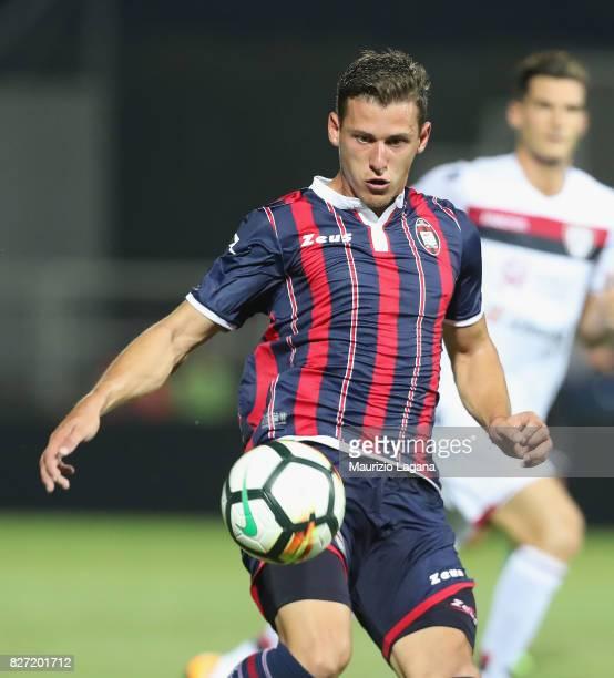 Aleksader Tonev of Crotone during the PreSeason Friendly match between FC Crotone and Cagliari Calcio at Stadio Comunale Ezio Scida on August 5 2017...