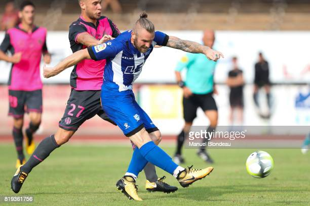 Aleksandar Katai of Alaves during the friendly match between Toulouse FC and Deportivo Alaves on July 19 2017 in Saint Jean de Luz France