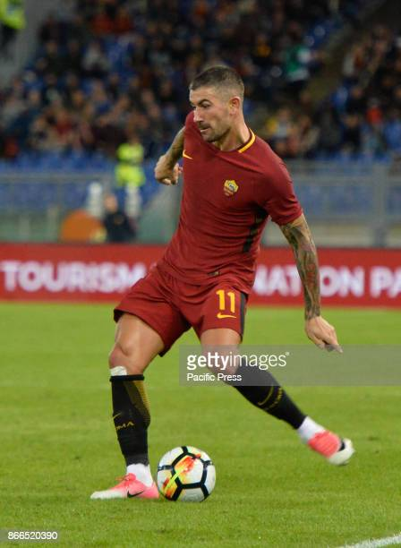 Aleksandar Kolarov during the Italian Serie A football match between AS Roma and FC Crotone at the Olympic Stadium in Rome on october 25 2017 Final...