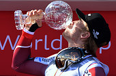 Aleksander Aamodt Kilde of Norway takes joint 2nd place and wins the SuperG crystal globe during the the Audi FIS Alpine Ski World Cup Finals Men's...