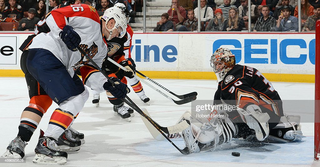 Florida Panthers v Anaheim Ducks