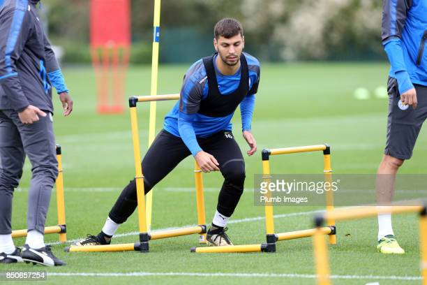 Aleksander Dragovic during the Leicester City training session at Belvoir Drive Training Complex on September 21 2017 in Leicester United Kingdom