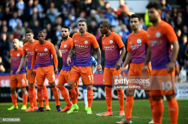 Aleksander Kolorov of Manchester City looks on during The Emirates FA Cup Fifth Round match between Huddersfield Town and Manchester City at John...
