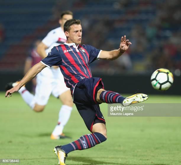 Aleksander Tonev of Crotone during the PreSeason Friendly match between FC Crotone and Cagliari Calcio at Stadio Comunale Ezio Scida on August 5 2017...