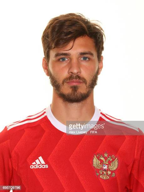 Aleksandr Erokhin of Russia during a portrait session at the Lotte Hotel on June 13 2017 in Moscow Russia