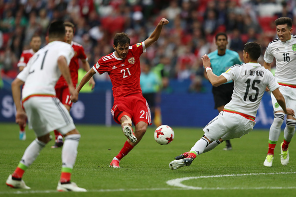 Mexico v Russia: Group A - FIFA Confederations Cup Russia 2017 : News Photo
