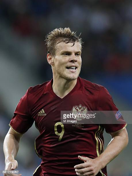 Aleksandr Kokorin of Russia during the UEFA EURO 2016 Group B group stage match between Russia and Slovakia at the Stade Pierremauroy on june 15 2016...