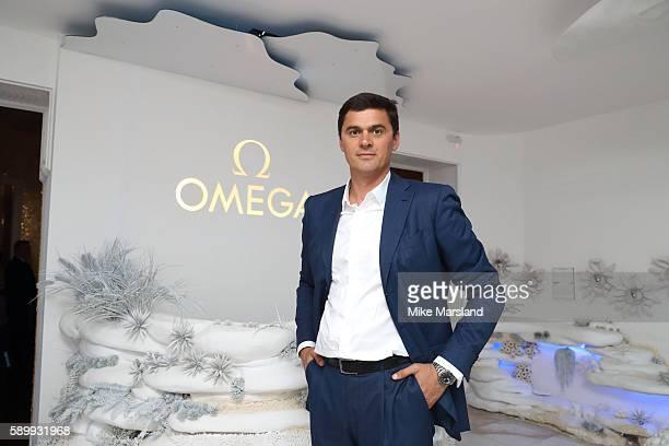 Aleksandr Popov pictured at Swimming Legends night at OMEGA House Rio 2016 on August 15 2016 in Rio de Janeiro Brazil