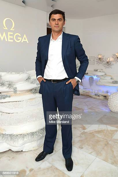 Aleksandr Popovpictured at Swimming Legends night at OMEGA House Rio 2016 on August 15 2016 in Rio de Janeiro Brazil