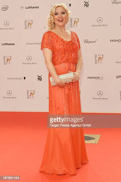 Aleksandra Bechtel attends the Bambi Awards 2013 at Stage Theater on November 14 2013 in Berlin Germany