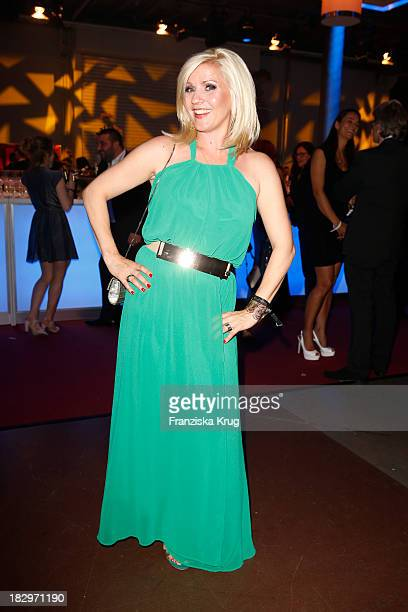 Aleksandra Bechtel attends the Deutscher Fernsehpreis 2013 After Show Party at Coloneum on October 02 2013 in Cologne Germany