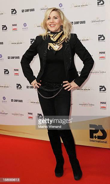 Aleksandra Bechtel attends the Dieter Bohlen Wallpaper Collection presentation of PS International at Balloni Halls on December 19 2012 in Cologne...