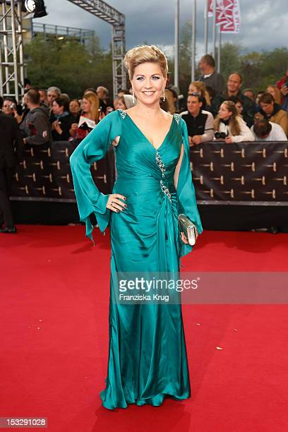 Aleksandra Bechtel attends the German TV Award 2012 at Coloneum on October 2 2012 in Cologne Germany