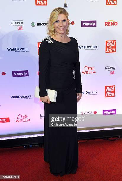 Aleksandra Bechtel attends the 'Goldene Bild Der Frau' Award 2014 at TUI Operettenhaus on November 20 2014 in Hamburg Germany
