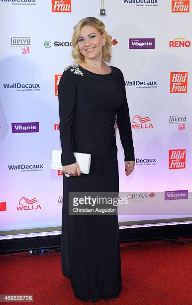 Aleksandra Bechtel attends the 'Goldene Bild Der Frau' Award 2014 at TUI Operettenhaus on November 20 2014 in Hamburg Germany