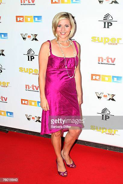 Aleksandra Bechtel attends the Prime Time Nightclub Party at 3001 club on August 7 2007 in Dsseldorf Germany