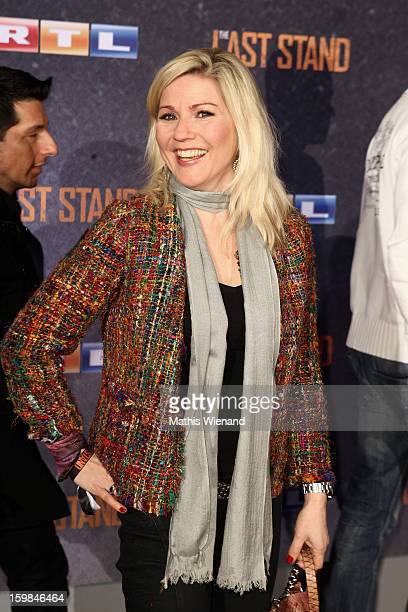 Aleksandra Bechtel attends the 'The Last Stand' Cologne Premiere at Astor Film Lounge on January 21 2013 in Cologne Germany
