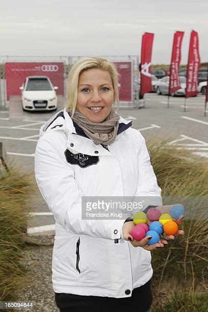 Aleksandra Bechtel Beim '1 Sylt Cross Golf' Auf Sylt