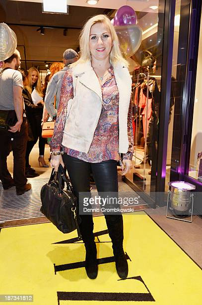Aleksandra Bechtel poses at the Laurel store opening on November 7 2013 in Cologne Germany