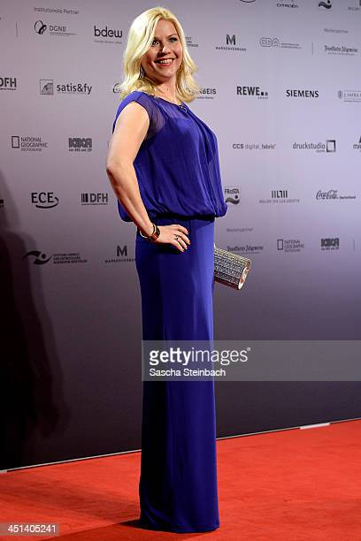 Aleksandra Bechtel poses prior to the German Sustainability Award 2013 at Maritim Hotel on November 22 2013 in Duesseldorf Germany