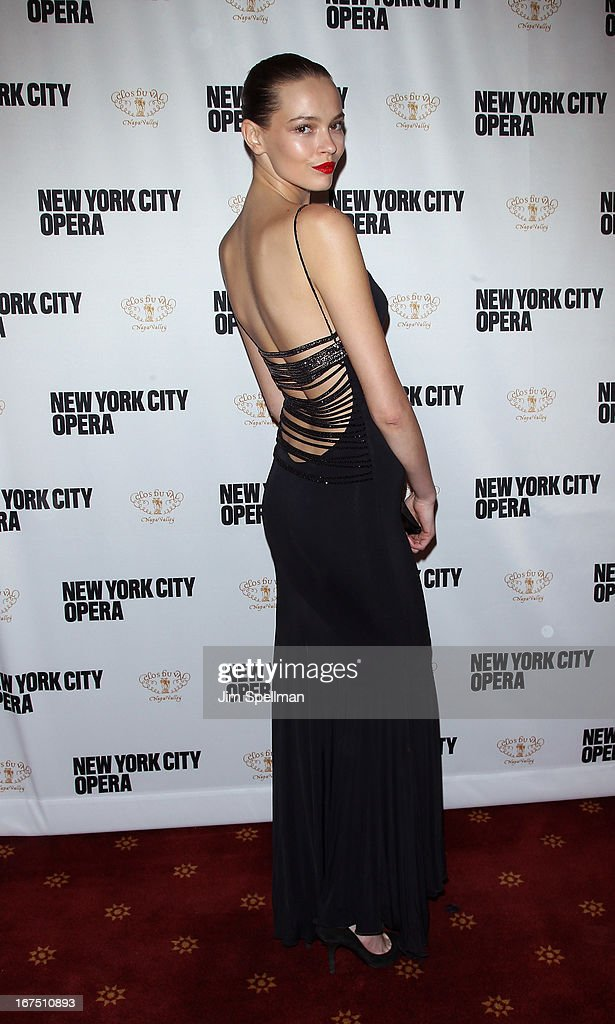 Aleksandra Cvetkovic attends the 2013 New York City Opera Spring Gala at New York City Center on April 25, 2013 in New York City.
