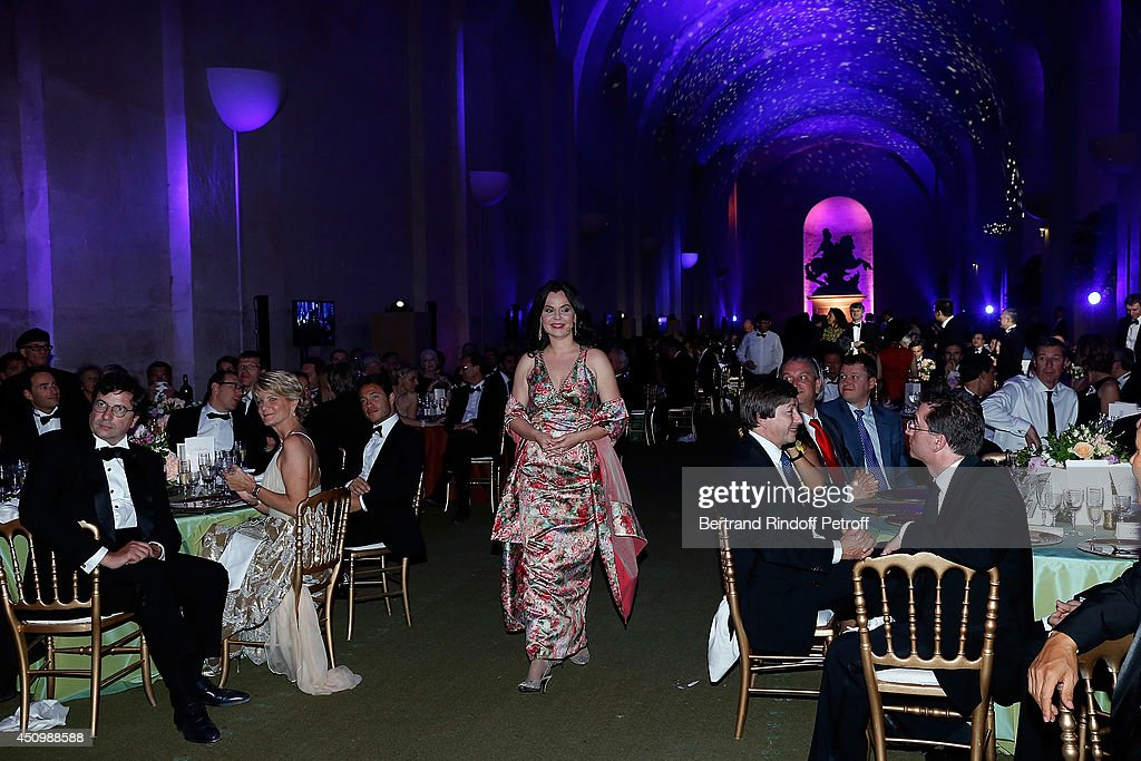 Aleksandra Kurzak performs during the L'Oreal Gala Evening 2014 at Chateau de Versailles on June 20, 2014 in Versailles, France.