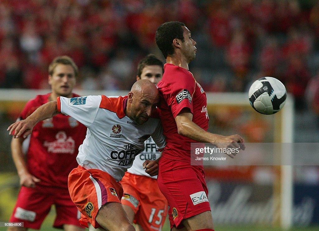 A-League Rd 14 - United v Roar