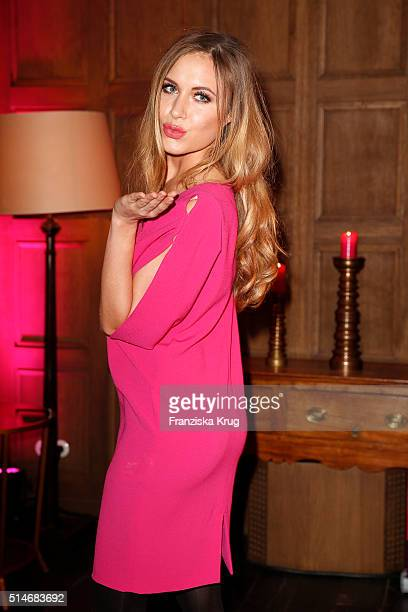Alena Gerber attends the JT Touristik Celebrates ITB Party on March 10 2016 in Berlin Germany