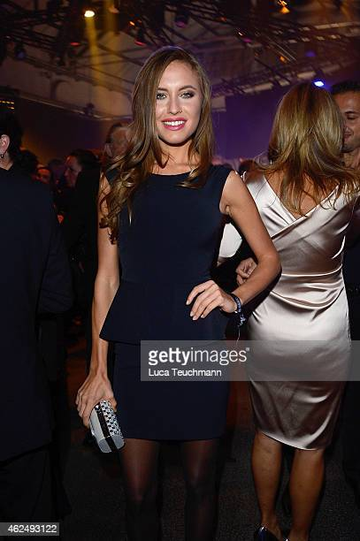 Alena Gerber attends the Mira Award 2015 at Station on January 29 2015 in Berlin Germany