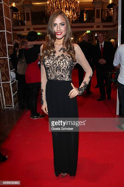 Alena Gerber during the Audi Generation Award 2014 at Hotel Bayerischer Hof on December 3 2014 in Munich Germany